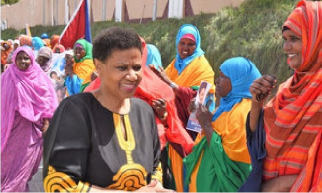 UN Women Executive Director Phumzile Mlambo